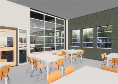 Caldwell County - Granite Falls - Middle School ~ Interior Rending STEM Space 6