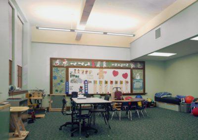 Hazelton - HES ~ Elementary - Interior classroom 2