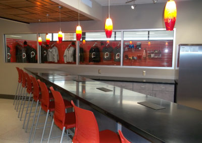 Indiana - IASHS ~ High School - Interior Breakfast Bar 1