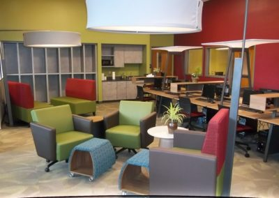 Indiana - IASHS ~ High School - Interior study Hall 2