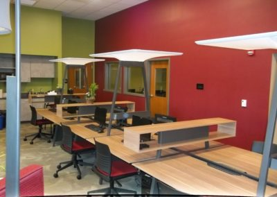 Indiana - IASHS ~ High School - Interior study room