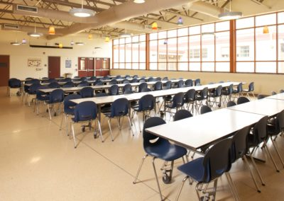 Mount Union - MUJSHS ~ Jr Sr High - Interior Cafeteria 2 [MKH]
