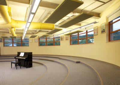 Mount Union - MUJSHS ~ Jr Sr High - Interior Choral Room [MKH]