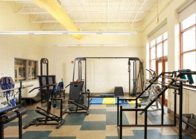 Mount Union - MUJSHS ~ Jr Sr High - Interior Fitness Room [MKH]