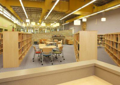 Mount Union - MUJSHS ~ Jr Sr High - Interior Library 4 [MKH]
