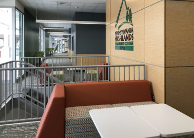 PHCC - LVM ~ Student Quiet Lounge at Stair