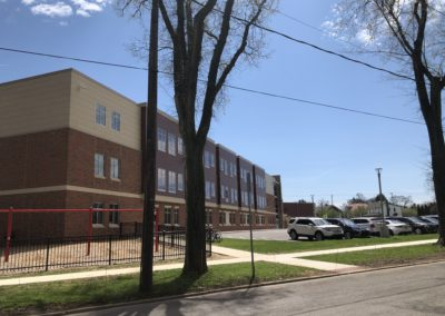 Westmont Hilltop - Elementary ~ Exterior, Visitors Side Classrooms (VM)