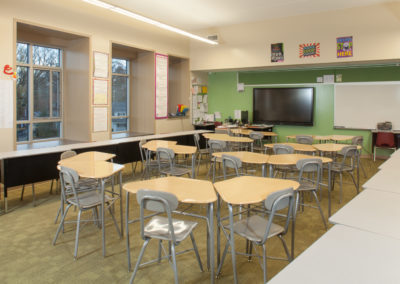 Westmont Hilltop - Elementary ~ Interior, Classroom 1 (MH)