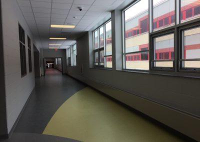 WestmontHilltop - JrSrHigh ~ Interior, Corridor (VM)