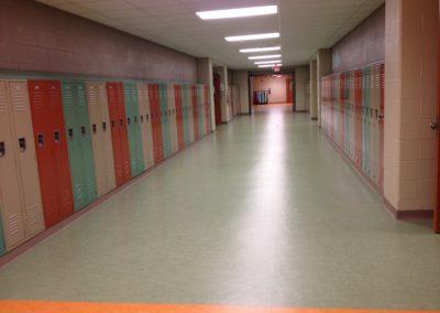 Willamsport - WAMS ~ Middle - Interior Admin Corridor Lockers 3